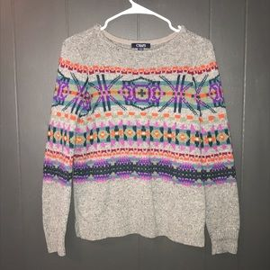 Chaps colorful sweater